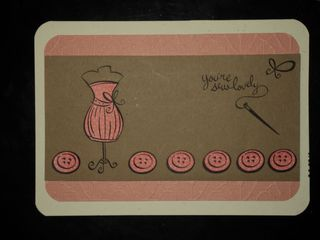 You're sew lovely mother-in-law card