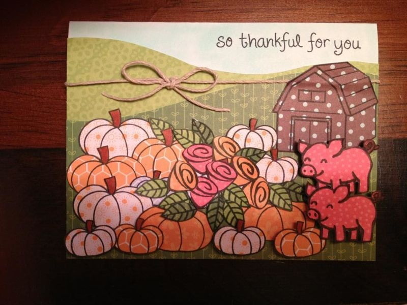 Fall Lawnscaping Blog Hop Card