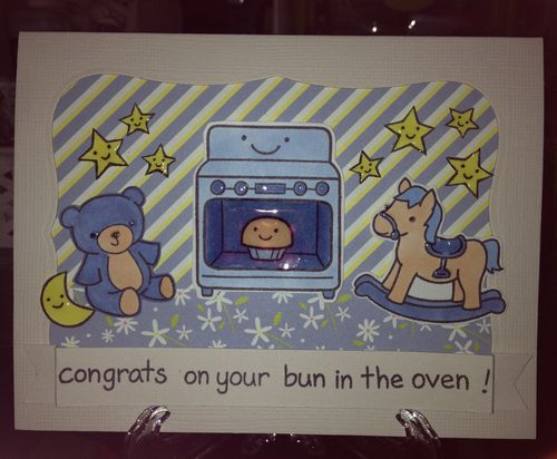 Hilde's baby card