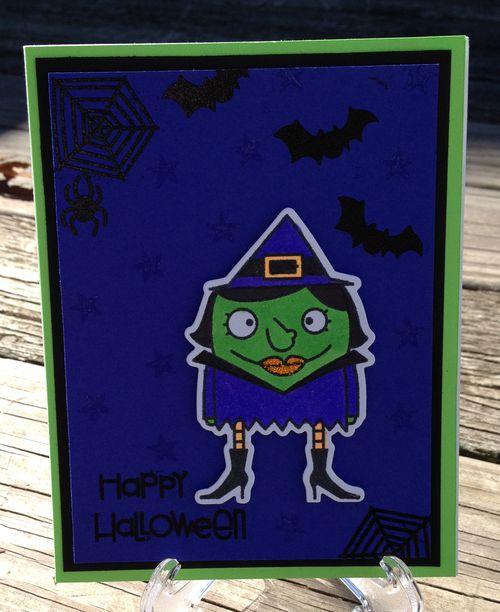 Happy Halloween witch 2