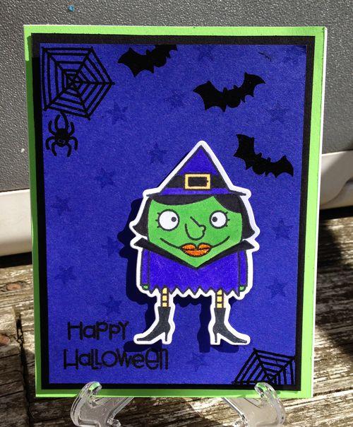Happy Halloween witch 3