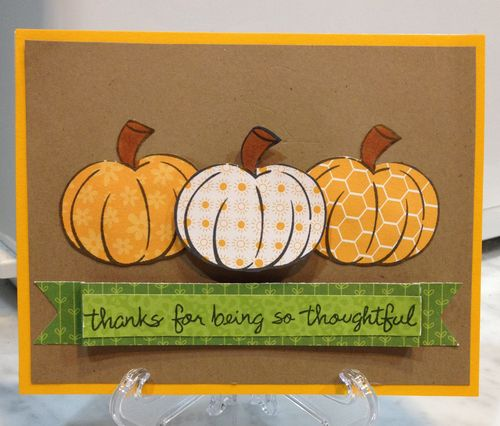 Thankful pumpkins