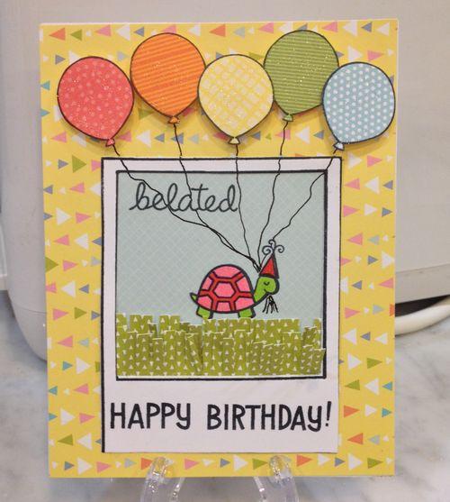 Happy Belated Birthday! Hilde